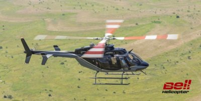 PhilJets' new Bell 407GX is the company's eighth aircraft, will be the first of the type available for charter in the Philippines. Bell Helicopter Photo