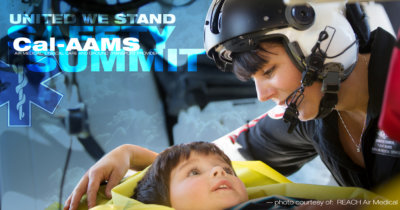 "Cal-AAMS is holding its Safety Summit with the theme ""United We Stand"" across two venues and two dates in November. Reach Air Medical Photo"