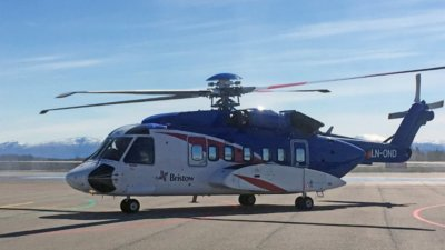 Bristow's Sikorsky S-92s will be used for search-and-rescue and transport missions for Statoil and Eni over the Barents Sea. Morten Sundt Photo