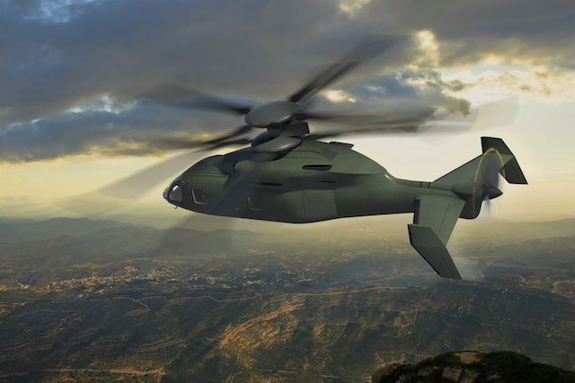 Because the flight software of of the Sikorsky-Boeing SB-1 Defiant has