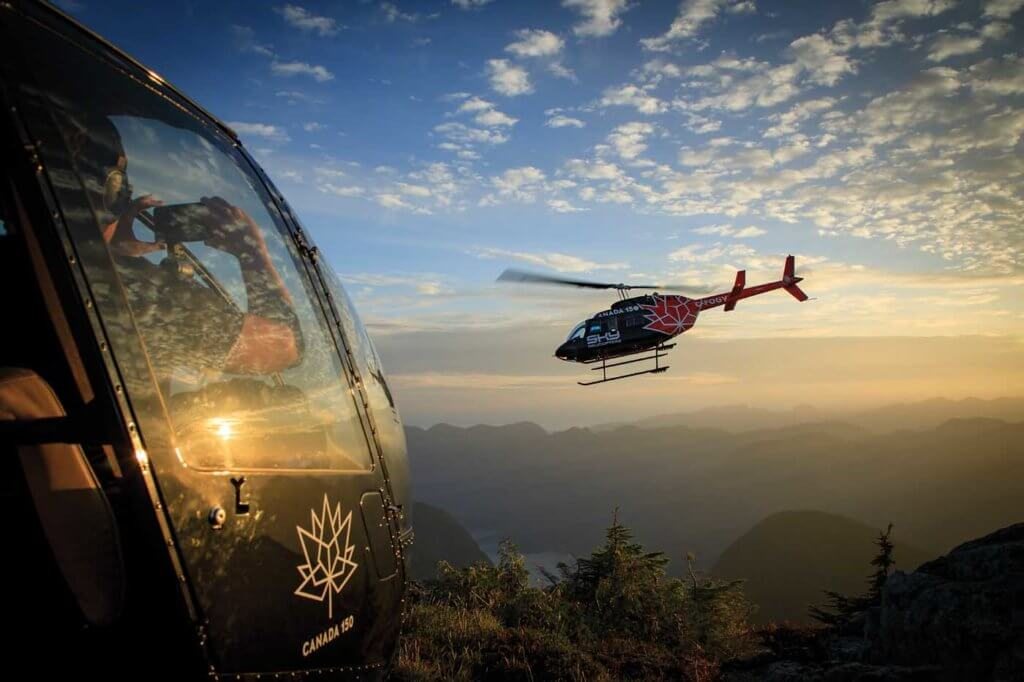 Social media has been a key element in Sky Helicopters' growth, with the company encouraging its passengers to take photos of their experience with the operator and share them online. Heath Moffatt Photo