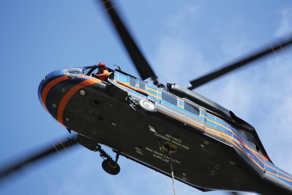 Timberline Helicopters, which currently operates three restricted category UH-60A Black Hawks, protested the BLM solitication to the GAO on the grounds that it was defective. However, the GAO denied the protest and two subsequent appeals.