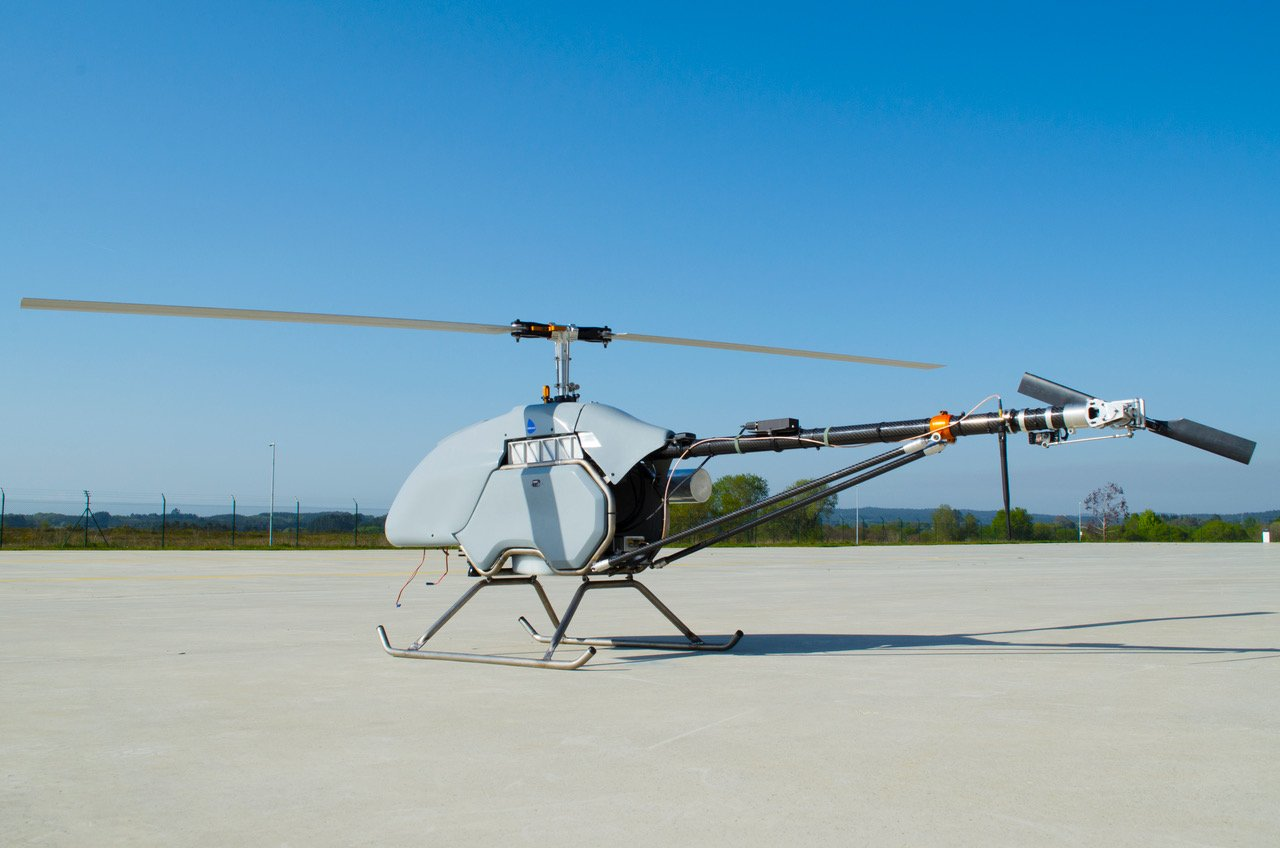 Babcock is developing unmanned rotorcraft to answer the company's own needs. Babcock MCS Photo