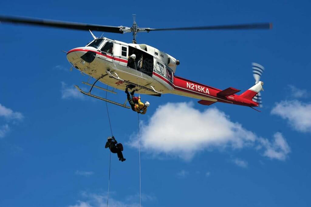 The USFS contractually requires operators who carry firefighters to comply with civil aircraft operating rules. However, the NTSB has noted that certain firefighting missions, such as rappel operations, are not adequately addressed by federal aviation regulations, and require mission-specific standards and oversight