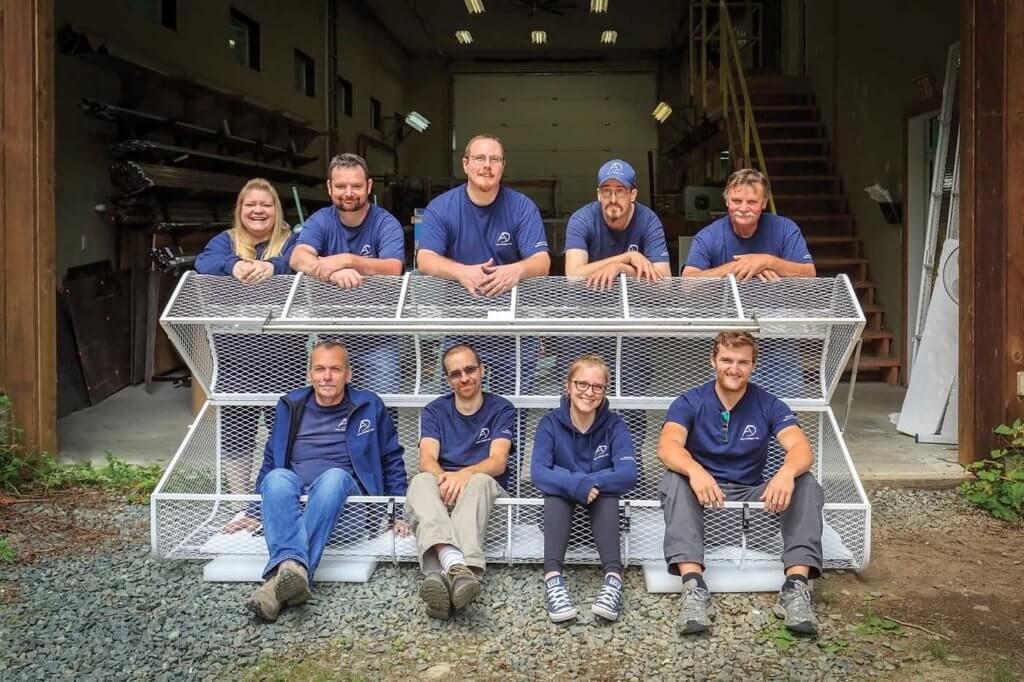 Aero Design produces a range of cargo baskets. Heath Moffatt Photo