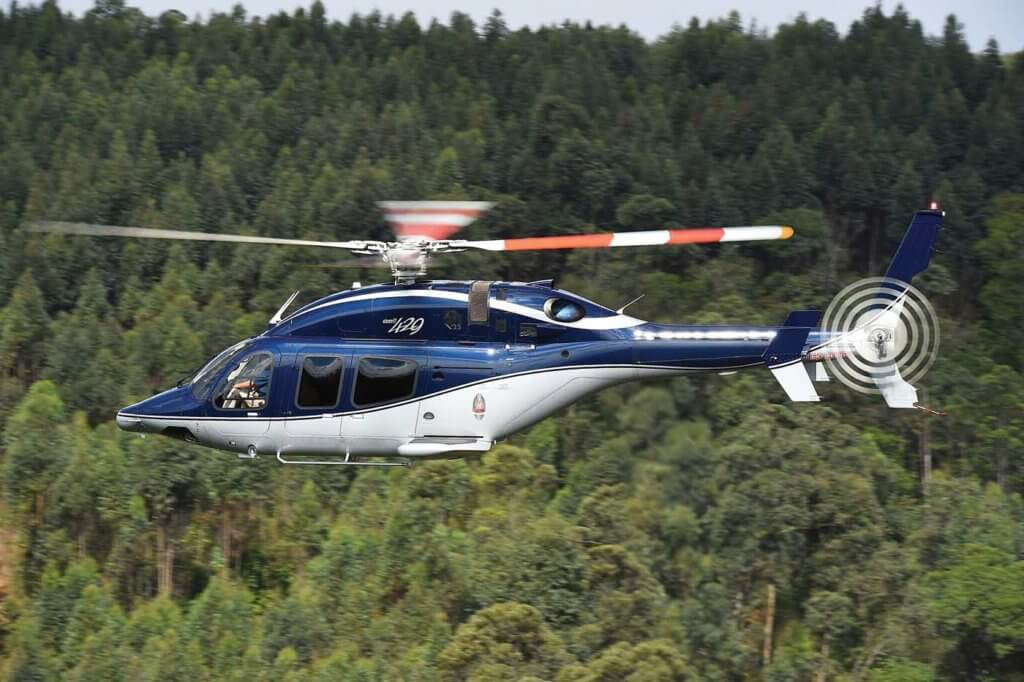 Bell introduced the Bell 429 with wheeled landing gear in 2013, which operators the flexibility to ground taxi if needed. Ned Dawson Photo