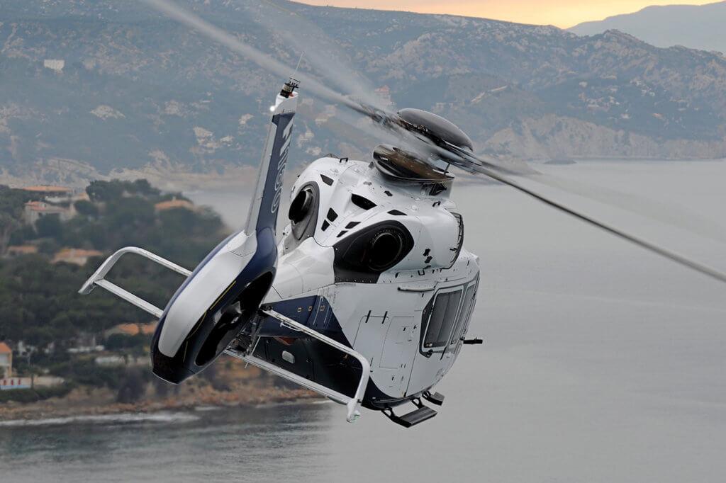 Airbus H160 in flight