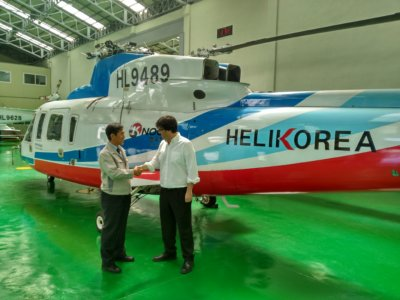 Entrol collaborates with Helikorea to provide an FTD that will adequately train Helikorea's pilots.