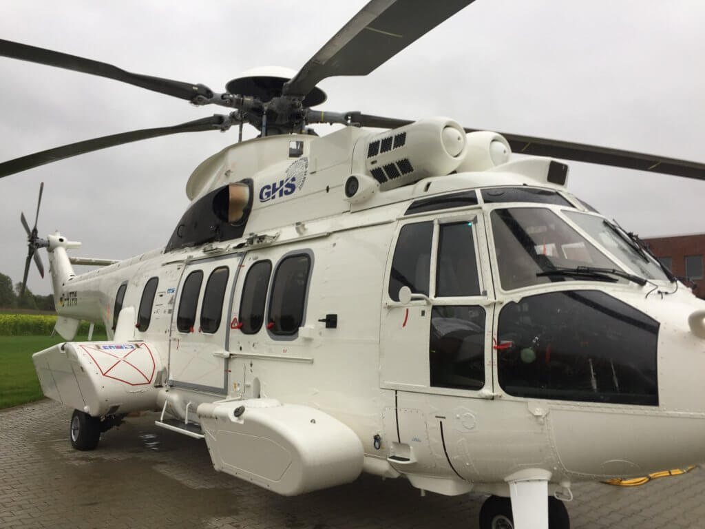 Closeup of H225