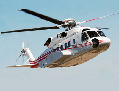 Waypoint Leasing's study looks at a variety of super-medium helicopter models, and it also looks at the competitiveness of Sikorsky S-92s brought about by recent changes in the oil and gas industry. Lockheed Martin Photo