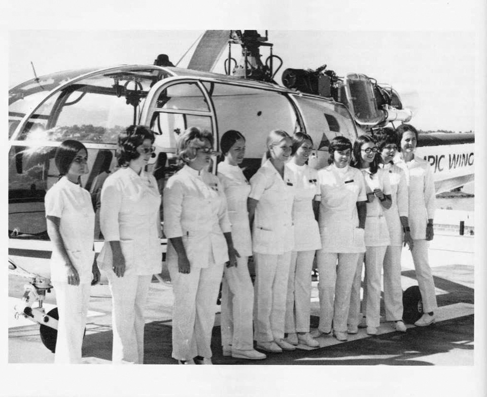 Flight For Life's original flight crew, circa 1972.