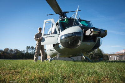 Aurora's Autonomous Aerial Cargo/Utility System (AACUS) uses LiDAR-based sensors to enable a helicopter to detect and avoid obstacles, among other tasks, without human guidance. In acquiring Aurora, Boeing aims to accelerate the development of such autonomous technology. Aurora Flight Sciences Photo