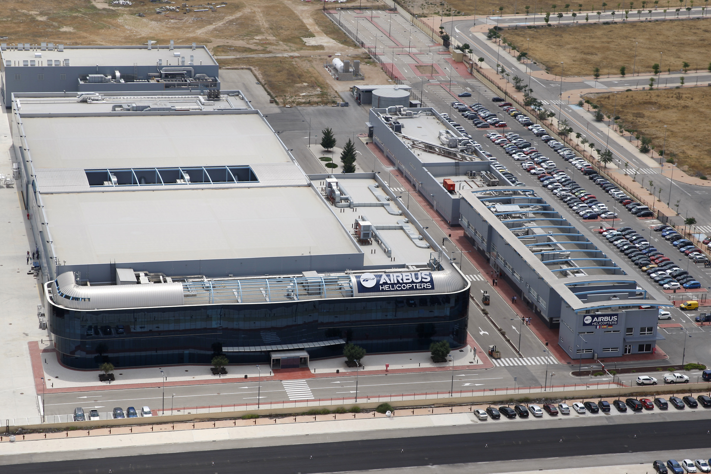 Airbus Helicopters' Albacete plant will become a center of excellence for the manufacture of major components assemblies. Airbus Helicopters Photo