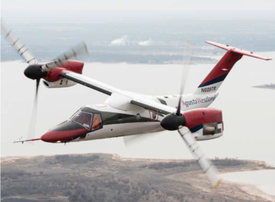 According to Simon Butler, the introduction of the AW609 to Australia would improve the standard of patient care in rural Australia by combining the remote vertical access abilities of a helicopter with long-distance rapid transport in one aircraft. Leonardo Photo