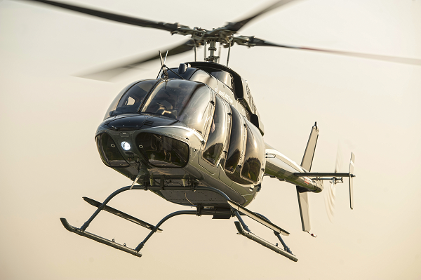 The customer chose the Bell 407GXP as they required the integrated avionics and technology capabilities that this aircraft has to offer. Bell Helicopter Photo