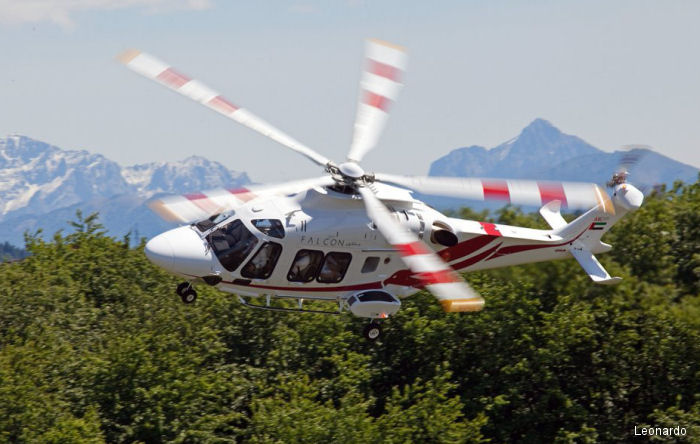 With the addition of threeAW169,Falcon Aviation's fleet will include fiveAW169, twoAW189helicopters and four additionalGrand and GrandNewlight-twin helicopters. Leonardo Photo