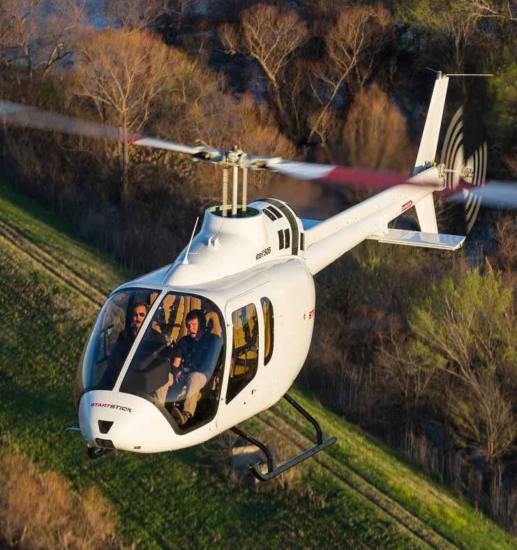 Reignwood will be bringing the Bell 505 to customers in China, and it will also work towards growing the use of helicopters in corporate and tourism sectors. Brad Hollaway Photo