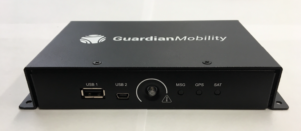 Another Guardian hardware product selected for the aircraft is the G4 hardware system. Guardian Mobility Photo