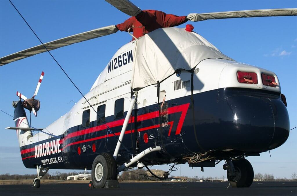 Sikorsky S58T with canopy rotor hub blade and tail rotor covers as & Bruceu0027s Custom Covers offers new insulated engine covers for fixed ...