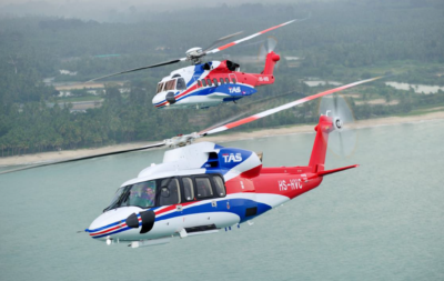 Thai Aviation Services Sikorsky S-76D and S-92. Rawee Payomyol Photo