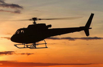 Robertson and StandardAero's crash-resistant fuel tank has been developed as a direct replacement for all AS350 models, as well as for the EC130 B4. Airbus Helicopters Photo