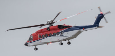 CHC will provide one of its Sikorsky S-92 helicopters to Centrica to support the Norwegian Sea drilling program. CHC Photo