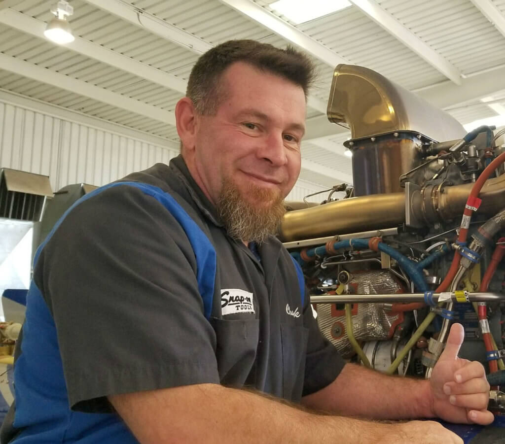 Hagen's career in helicopter maintenance began when he received his A&P license in 1992, followed by six years of service in the U.S. Army, working as a 68B10 turbine engine mechanic