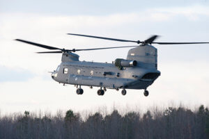 The Royal Netherlands Air Force will modernize six CH-47 Chinooks to the latest F-model configuration. Boeing photo
