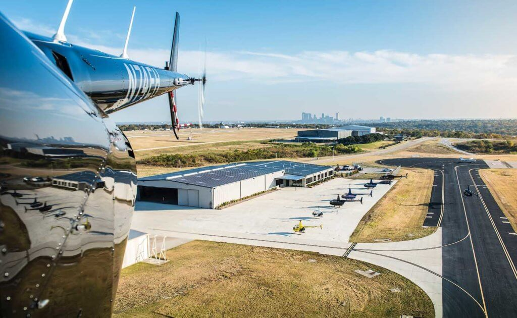 Epic Helicopters operates out of a new 30,000-square-foot facility on the west side of Fort Worth Meacham International Airport in Texas - where it has plenty of room for future growth. Will Graham Photo