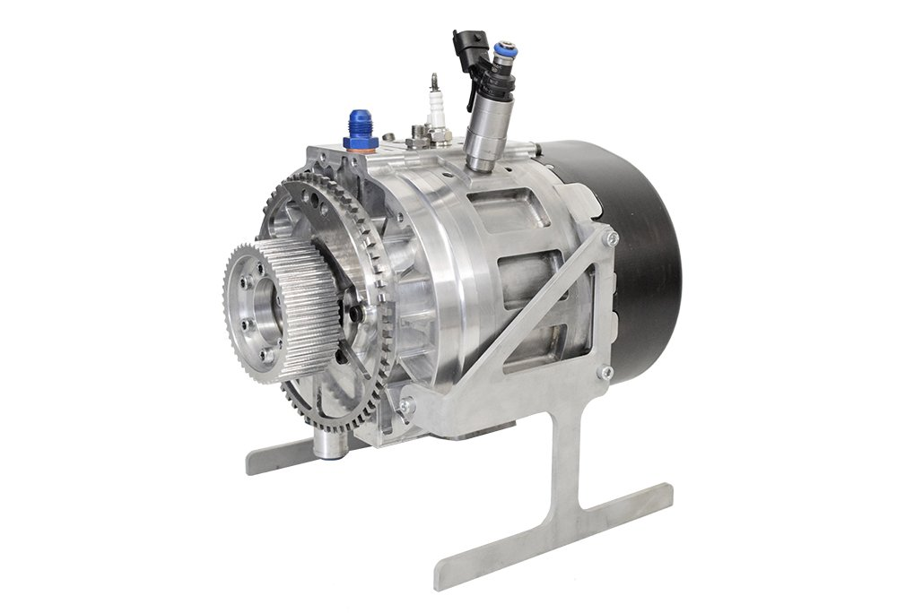 the Wankel engine offers high power and torque with very low-vibration engine operation.