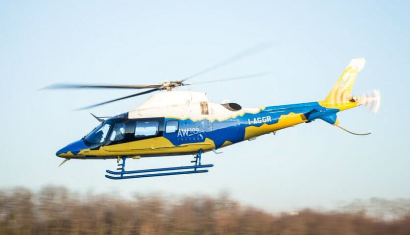 The AW109 Trekker is a skid-equipped version of Leonardo's AW109 series of helicopters. Leonardo Photo