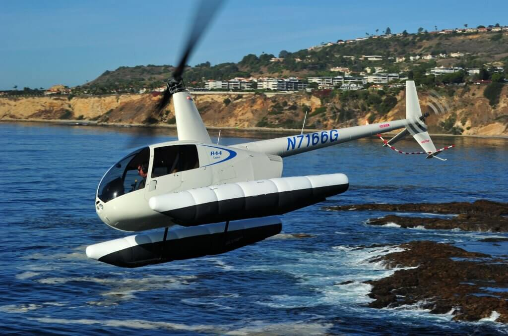 An operator in Mexico has become the first customer to add an R44 Cadet with floats to its fleet. Skip Robinson Photo