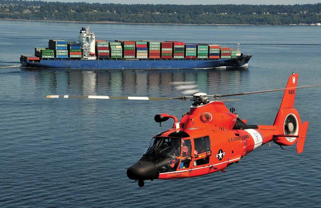 After over 30 years of use by the U.S. Coast Guard, the H-65 series aircraft has proven itself to be an extremely reliable airframe. Skip Robinson Photo
