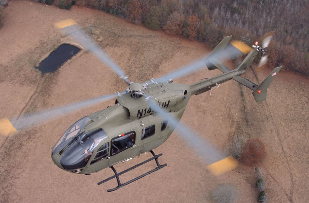 A federal judge barred the Army from proceeding with a sole-source acquisition of 16 UH-72A Lakota helicopters in 2016. The Army appealed the ruling, and is now taking steps to procure up to 35 additional Lakotas. Airbus Helicopters Photo
