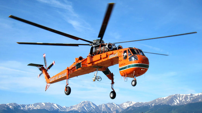 Erickson plans to perform demo flights of Matrix Technology in the Air Crane in 2021. Erickson Photo