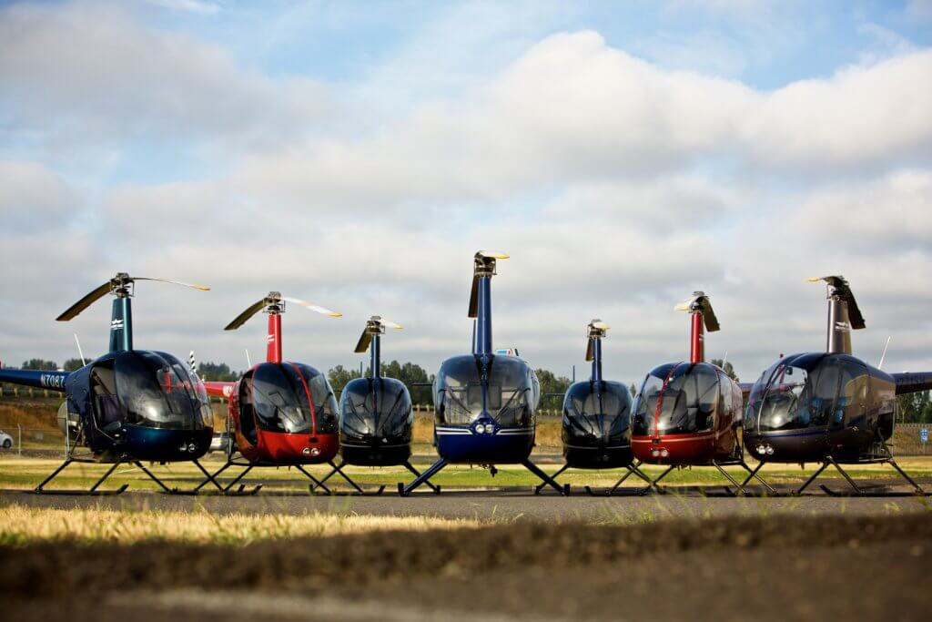 Students can earn their licenses in the seven-week program to become either a professional airplane or helicopter pilot. Craig MItchelldyer Photo