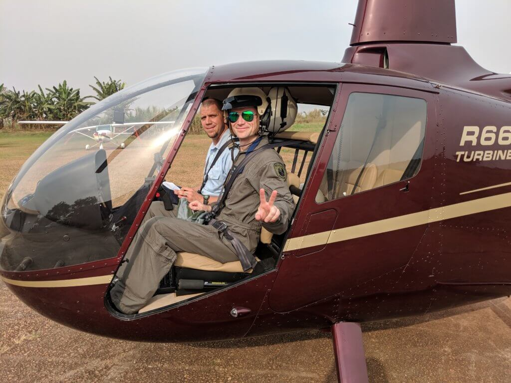 JAARS, a nonprofit organization, has operated an R44 helicopter for several years and recently reviewed its operational requirements and found a need for an R66 turbine helicopter. Revolution Aviation Photo