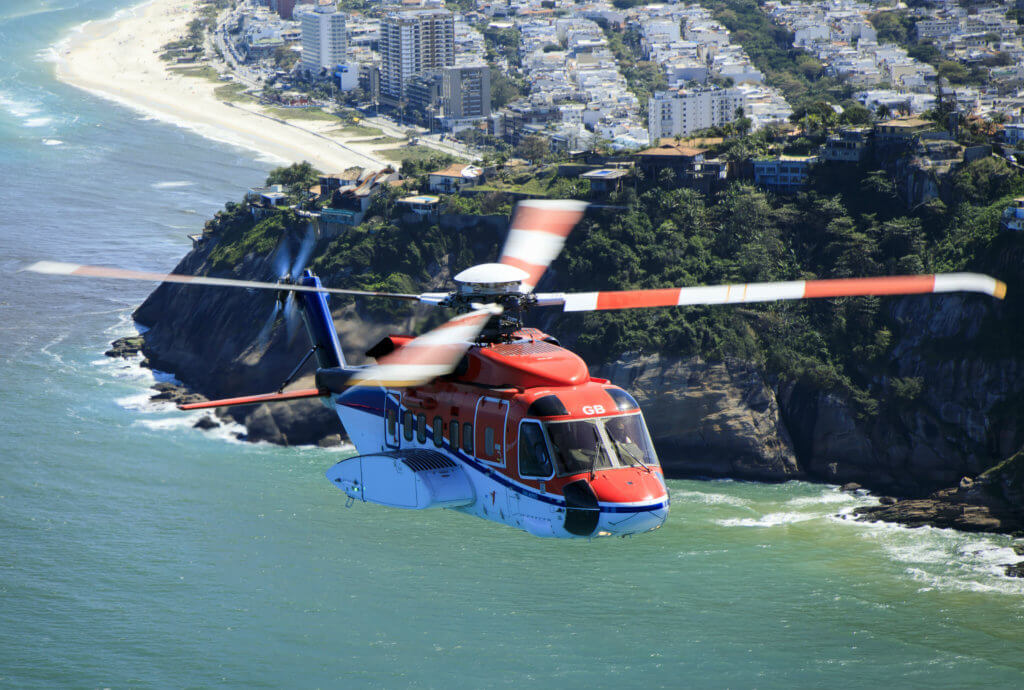 Statoil's missions will be supported by a Sikorsky S-92, owned by CHC Brazil. CHC Photo