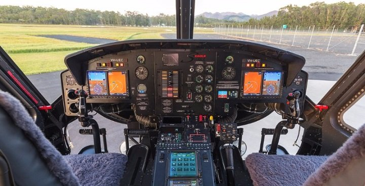 The MCP01-120 is designed specifically for the Eagle single conversion; in this case, the single-engine Bell 212. AEM Corp. Photo