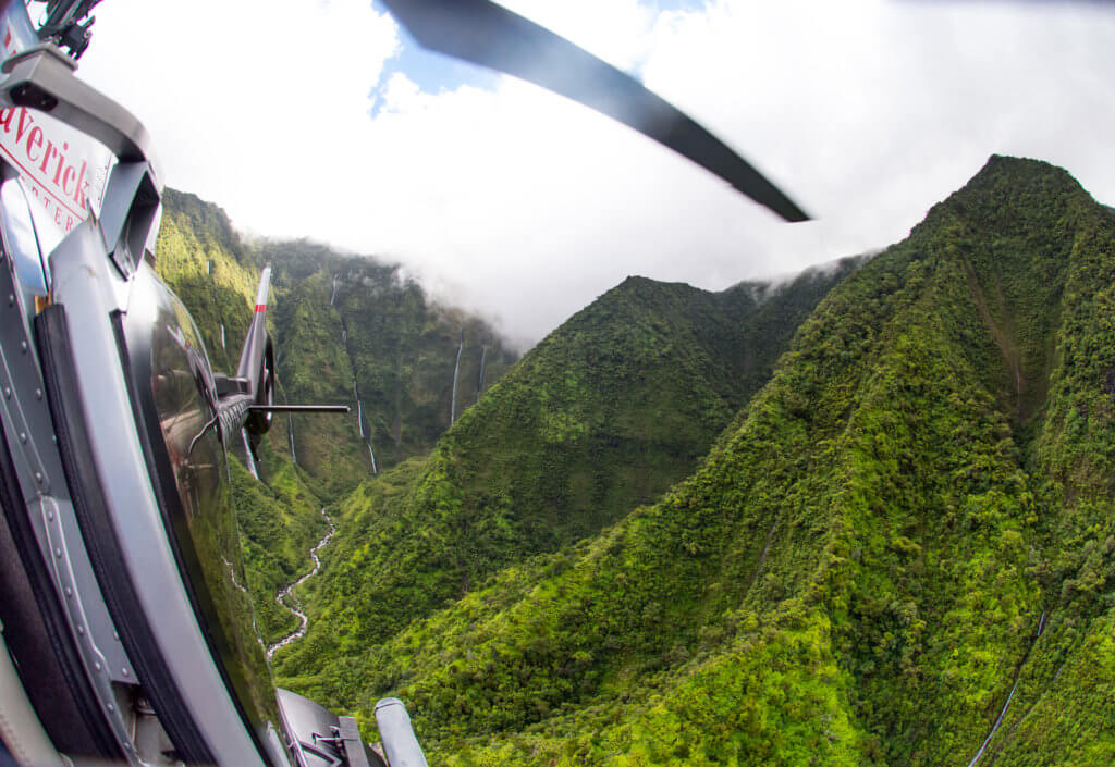 Maverick Helicopters' new excursions will showcase Kauai's spectacular landscapes including Waimea Canyon, known as the