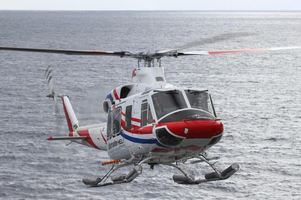 Ultimate Heli completes scientific support contract utilizing 2 Bell