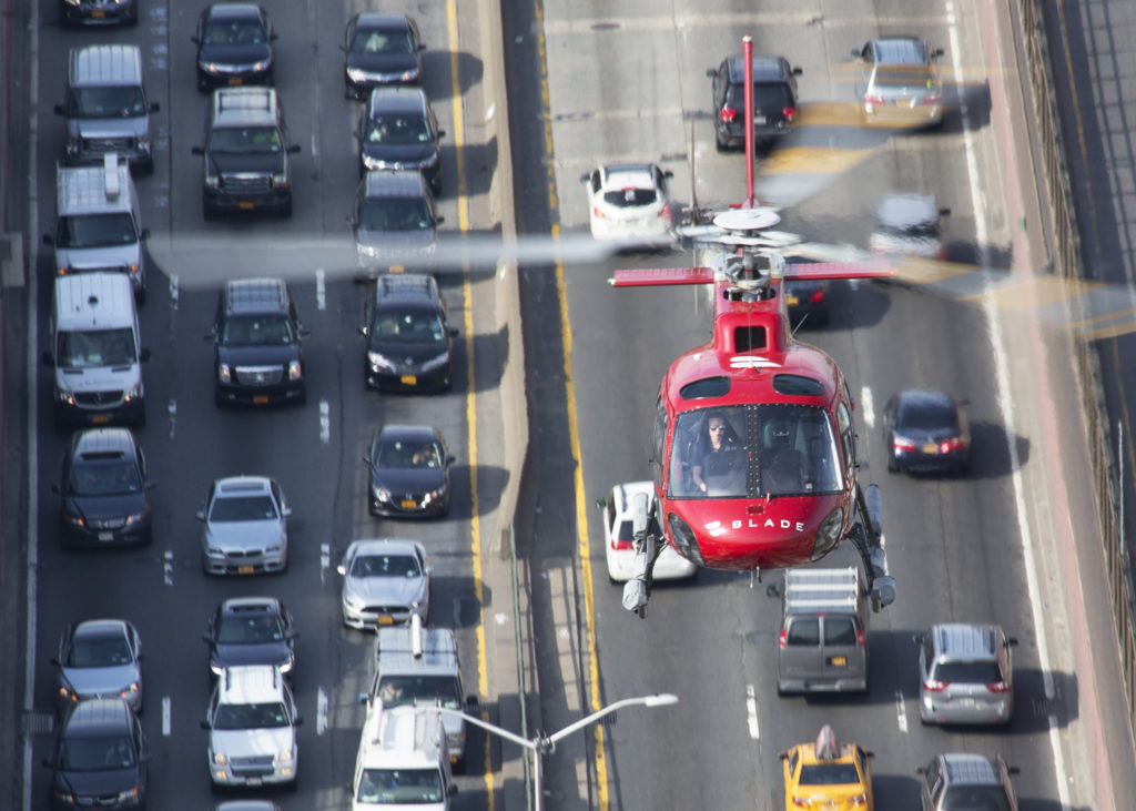 According to Blade, over 75 percent of its first-time helicopter passengers have never flown in a helicopter before flying with the operator. Airbus Photo