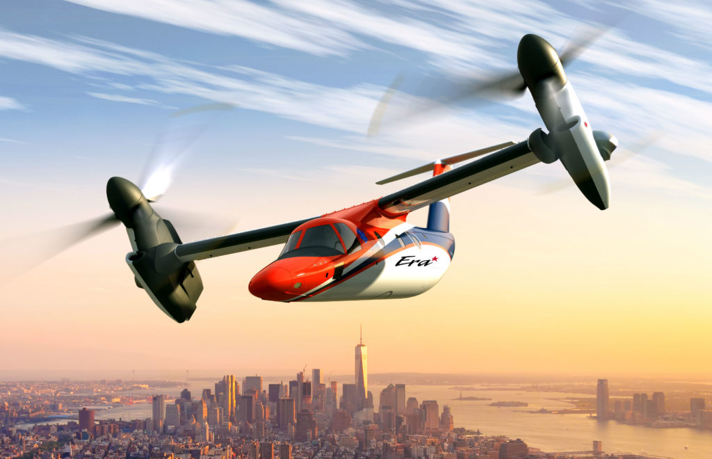 Era is to take delivery of two Leonardo AW609s, along with a training package, in 2020. Leonardo Image