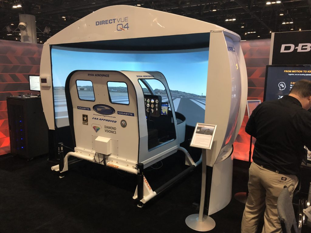A new projection dome display from Q4 will be on display at Heli-Expo.