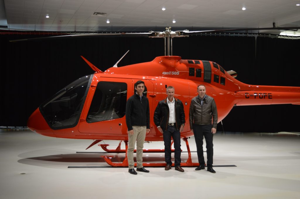 After Nautilus accepted the delivery of the 505 Jet Ranger Xs at Bell's Mirabel facility, the aircraft were shipped to Australia and will be used for tourism charter and utility flights in the North Queensland and the Great Barrier Reef region. Bell Photo