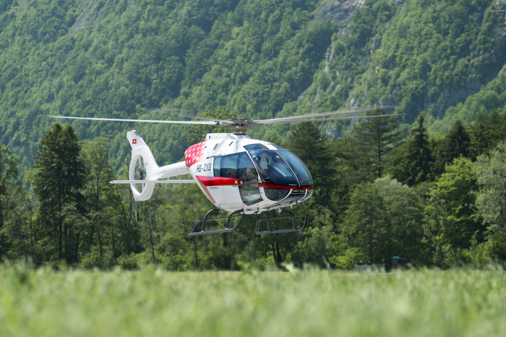 Swiss manufacturer Kopter is prioritizing the U.S. market for its upcoming SH09. At Heli-Expo, the second prototype of the aircraft will be displayed with an EMS interior provided by Metro Aviation. Benjamin Dieckmann Photo