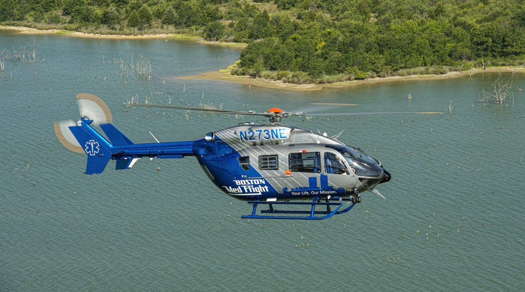 The new aircraft will replace Boston MedFlight's H145 predecessors, two EC145s, and a BK117. Airbus Helicopters Photo