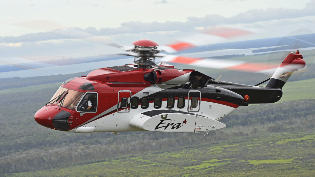 The new S-92 is the ninth Sikorsky aircraft in Era's fleet. Ned Dawson Photo
