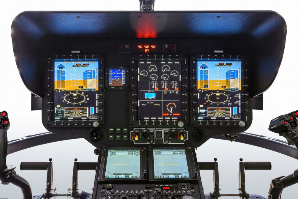 Cockpit avionics photo