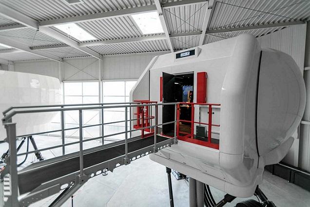 ADAC partnered with Reiser Simulation and Training on its new H145 full-flight simulator. Christoph Papsch Photo